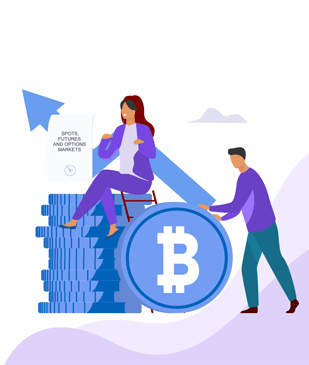 Cryptobulls Bitcoin logo Get tailored strategies and expert advice to start risk-free cryptocurrency trading